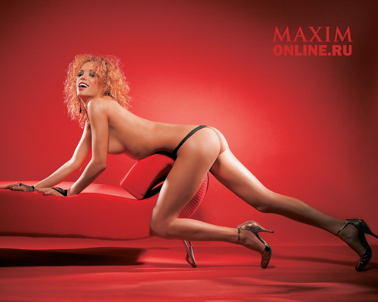 Русские девушки maxim 23 фотография